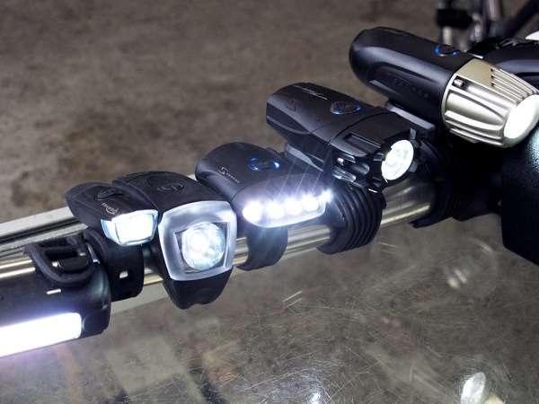 Serfas USB winter bicycle headlights