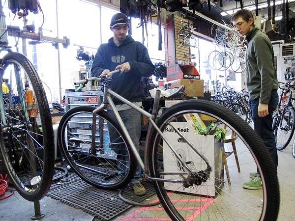 Custom 36 inch rigid mountain bike