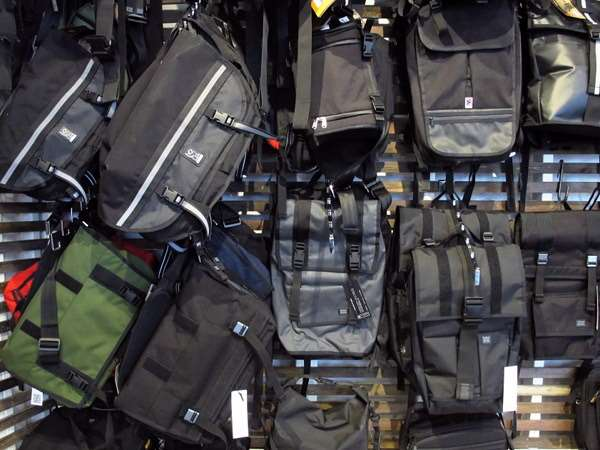 Waterproof courier backpacks bags from Chrome and Mission Workshop