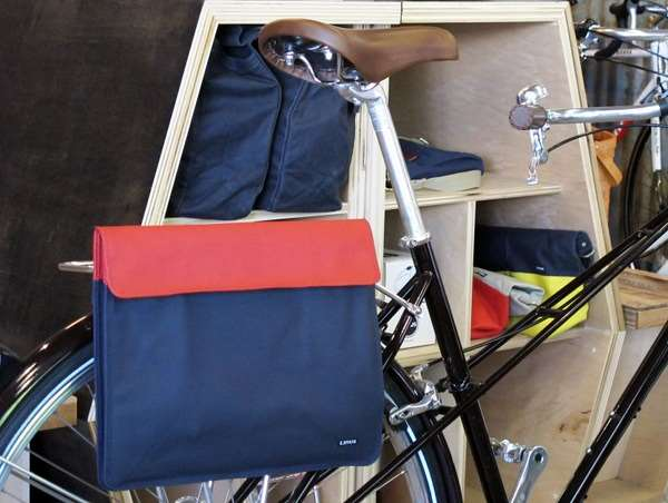 Linus the shopper pannier bag