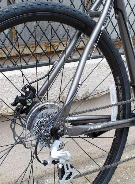 2013 Jamis Nova Sport aluminum disc brake cyclocross Shimano 2300
