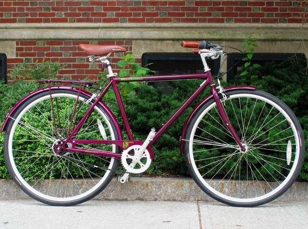 2013 KHS Green 8 Shimano Nexus Reynolds 520 commuter city bike