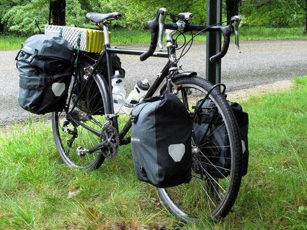 Surly Crosscheck Tubus racks Ortlieb bags touring