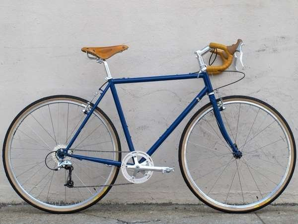 Handsome Devil semi custom Brooks Nitto TRP MKS touring panracer
