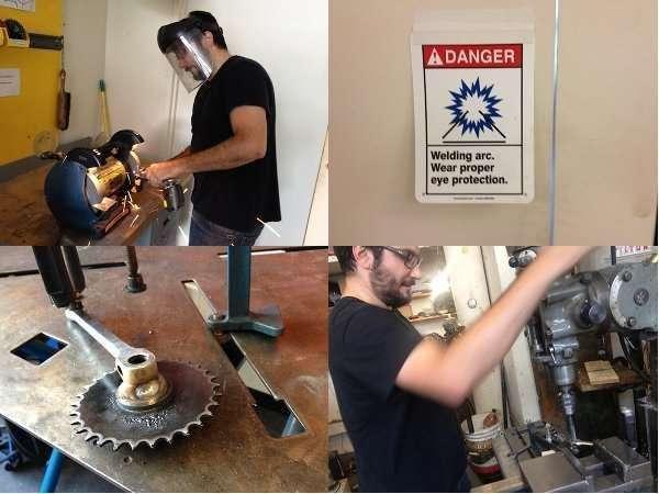 The Coffee Trike Boston repair