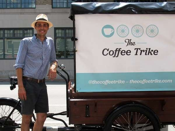 Shop Visit: The Coffee Trike