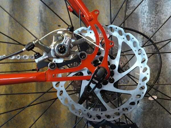 2014 Raleigh Roper 4130 steel cyclocross Hayes disc brakes Shimano 105