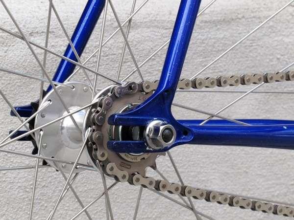 Kazane track frame steel lugged custom build