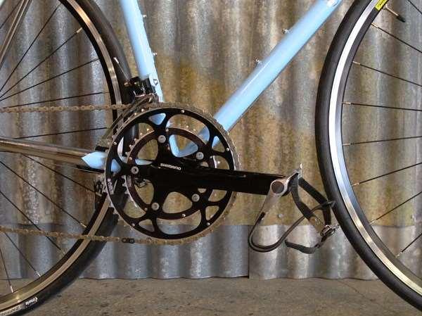 Superb Bicycle Mercato road frameset demo build Nitto Hatta Soma Shimano 105