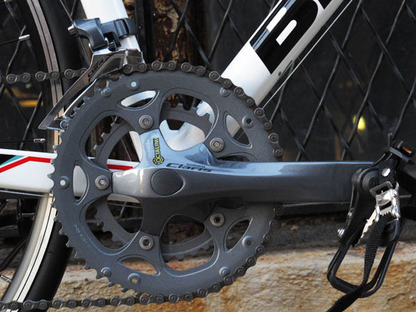 Shimano Claris on 2014 Bianchi Bia Nirone 7 entry level road
