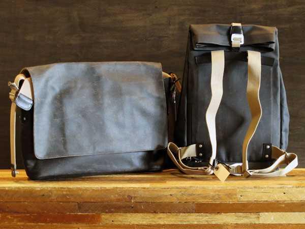 Brooks Pickwick Barbican Asphalt Bag