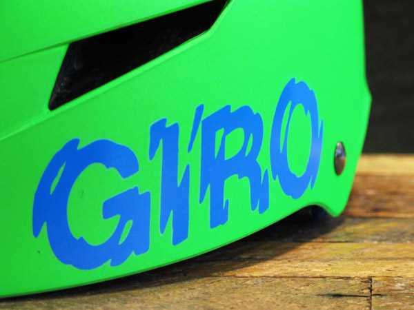 Giro logo flak helmet