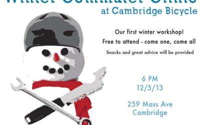 Winter Commuter Clinic Dec 5