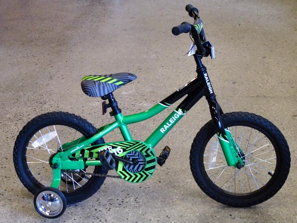2014 Raleigh MXR 20 kids bike