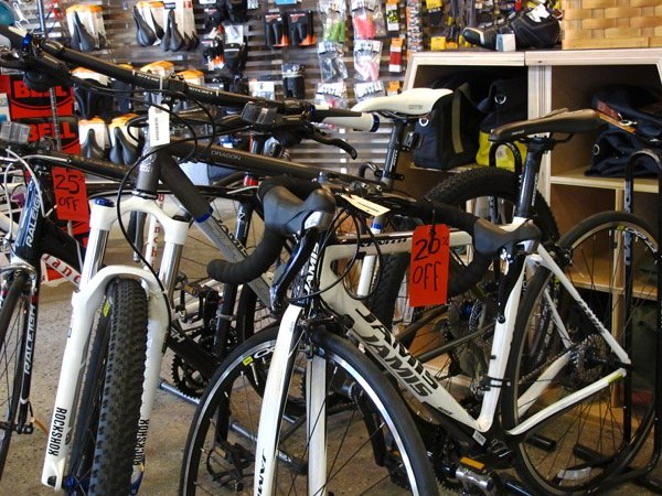 Columbus Day Hours and Sale Bikes