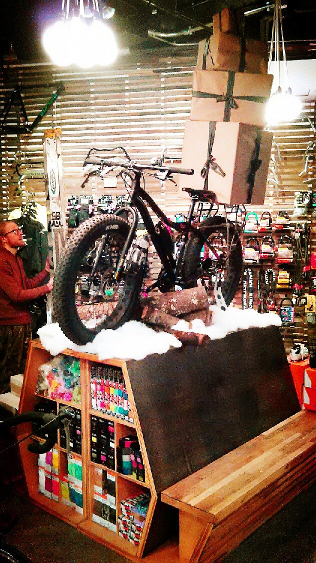 khs fatbike with cycling christmas gifts in boston
