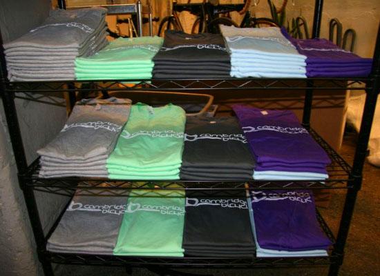 Cambridge Bicycle t-shirts - American Apparel