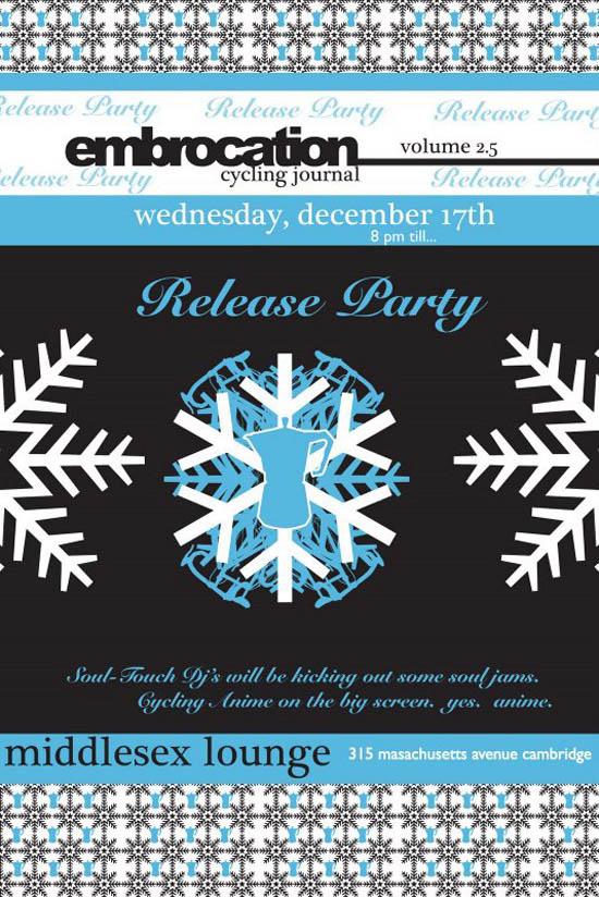 Embrocation magazine Gentlemens Snow Race