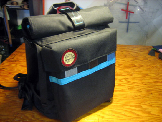Freight Baggage Rolltop Backpack