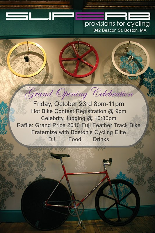 Superb Bicycle Grand Opening